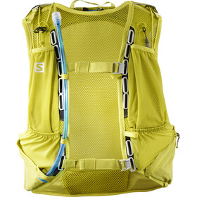 Salomon Skin Pro 15 Backpack Set citronelle/sulphur spring